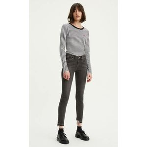 Levi's 711 Gray Skinny Jeans with Released Hem